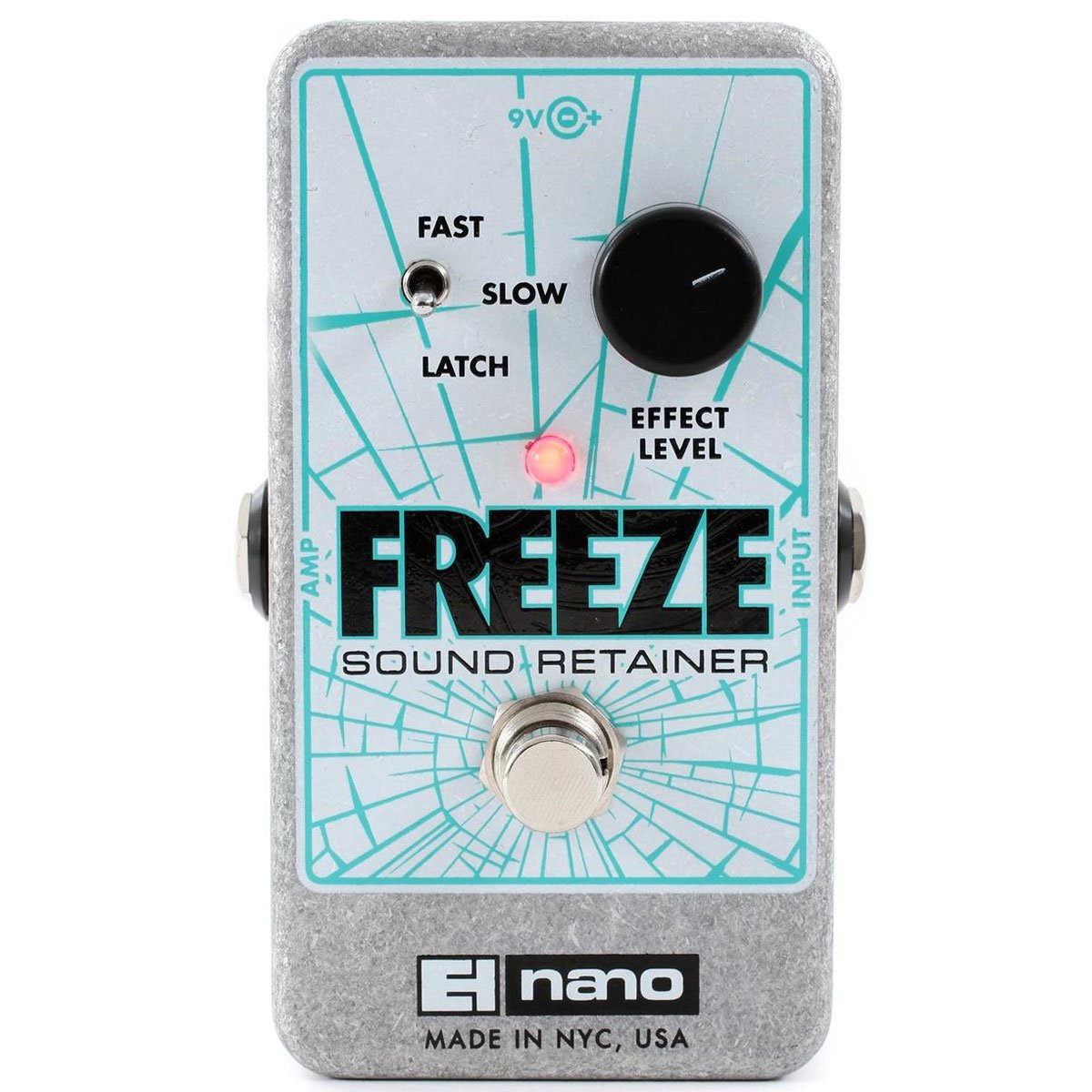 Electro Harmonix - Freeze - Infinite Sustain Pedal (PSU Included) | Lucky Fret Music Co.