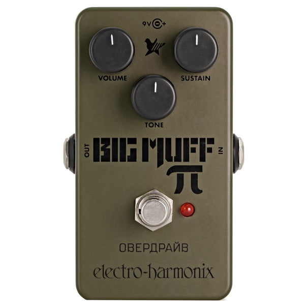 Electro Harmonix - Green Russian Big Muff - Distortion/Sustainer | Lucky Fret Music Co.