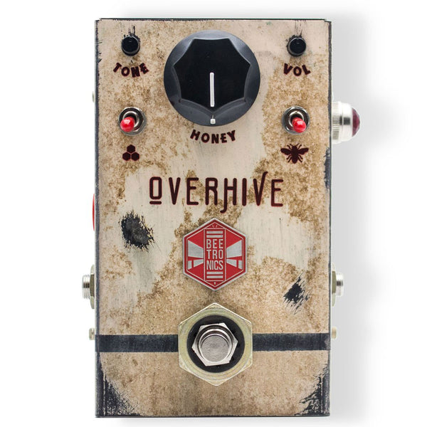 Beetronics Overhive - Medium Gain Overdrive | Lucky Fret Music Co.