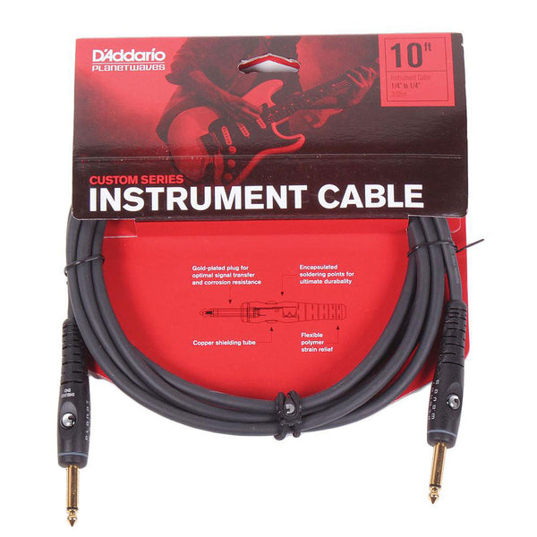 Planet Waves Custom Series 10ft Cable - Straight