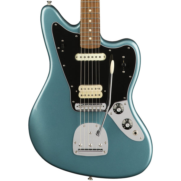 Fender Player Jaguar, Pau Ferro, Tidepool | Lucky Fret Music Co.