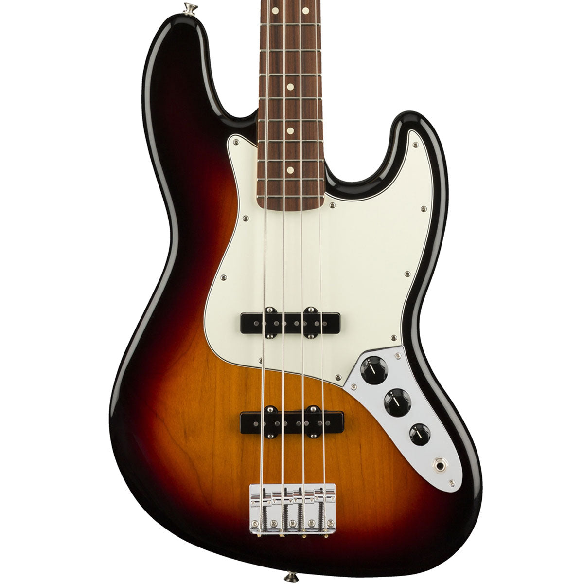Fender Player Jazz Bass, Pau Ferro, 3-Color Sunburst