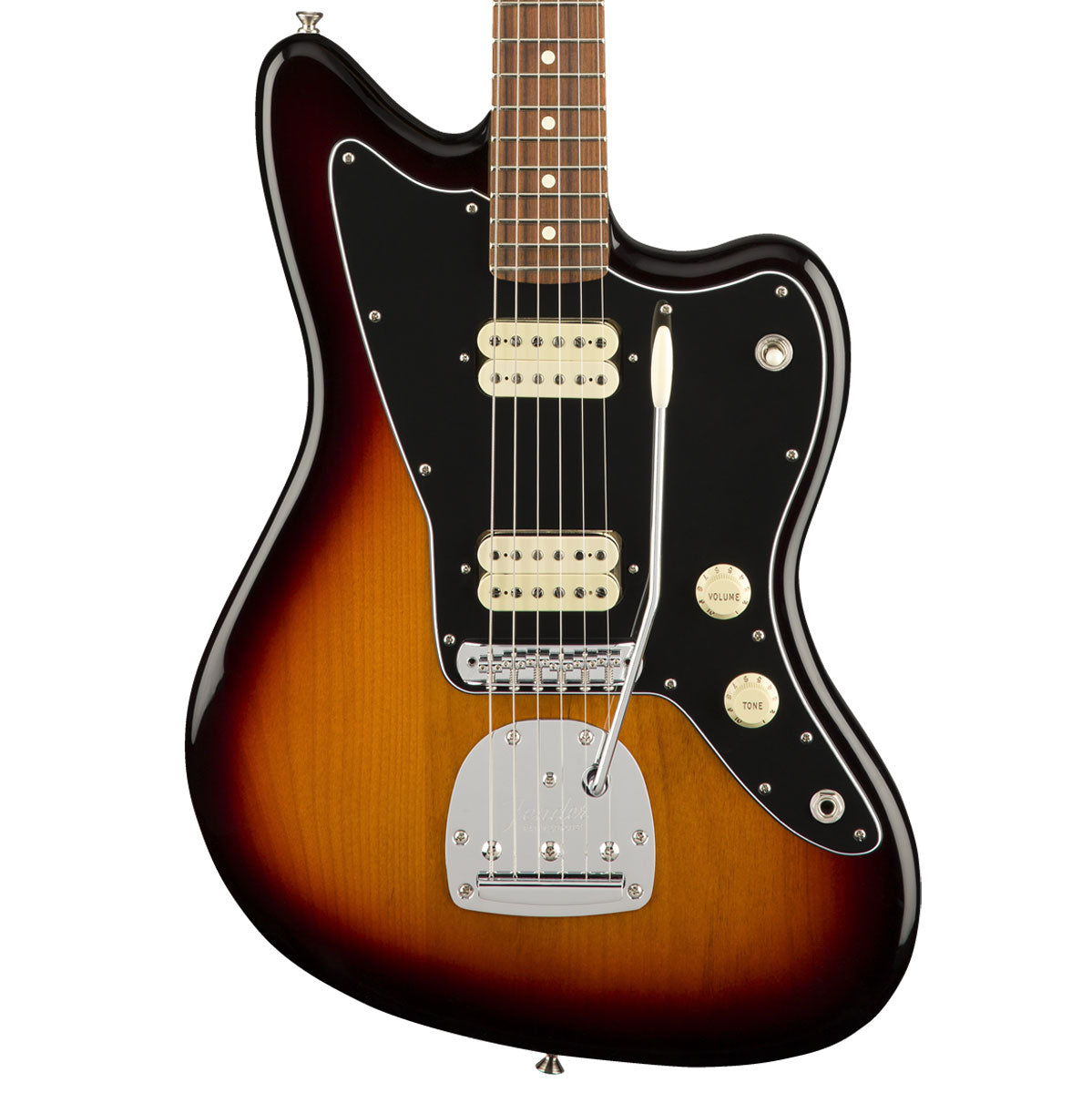Fender Player Jazzmaster, Pau Ferro, 3-Color Sunburst | Lucky Fret Music Co.