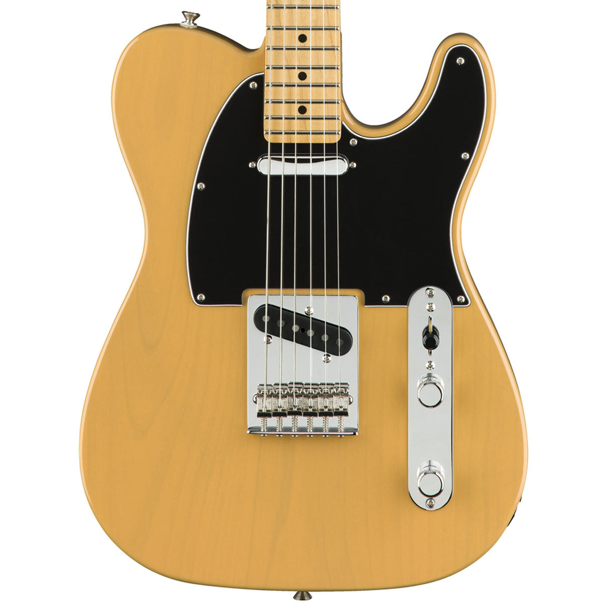 Fender Player Telecaster, Maple, Butterscotch Blonde | Lucky Fret Music Co.