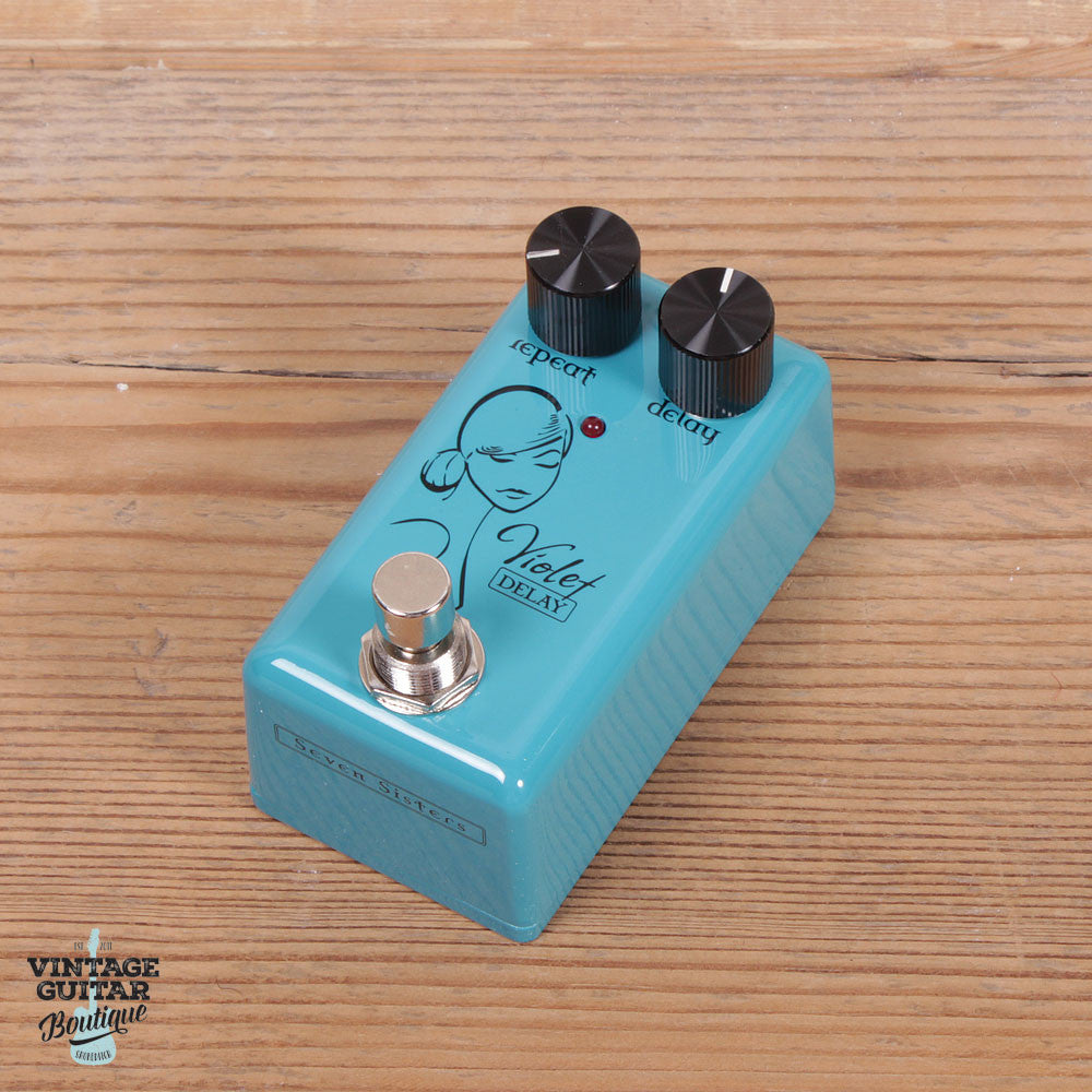 Red Witch Seven Sisters Violet Delay - Vintage Guitar Boutique - 1