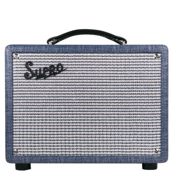 Supro 1605R Reverb 1X8 Tube Amplifier | Lucky Fret Music Co.