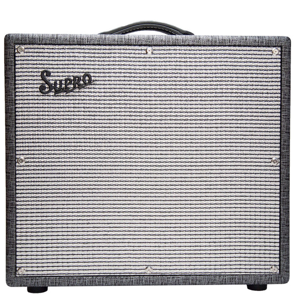 Supro - 1695T - Black Magick 1x12 Tube Amplifier - 240V - Vintage Guitar Boutique