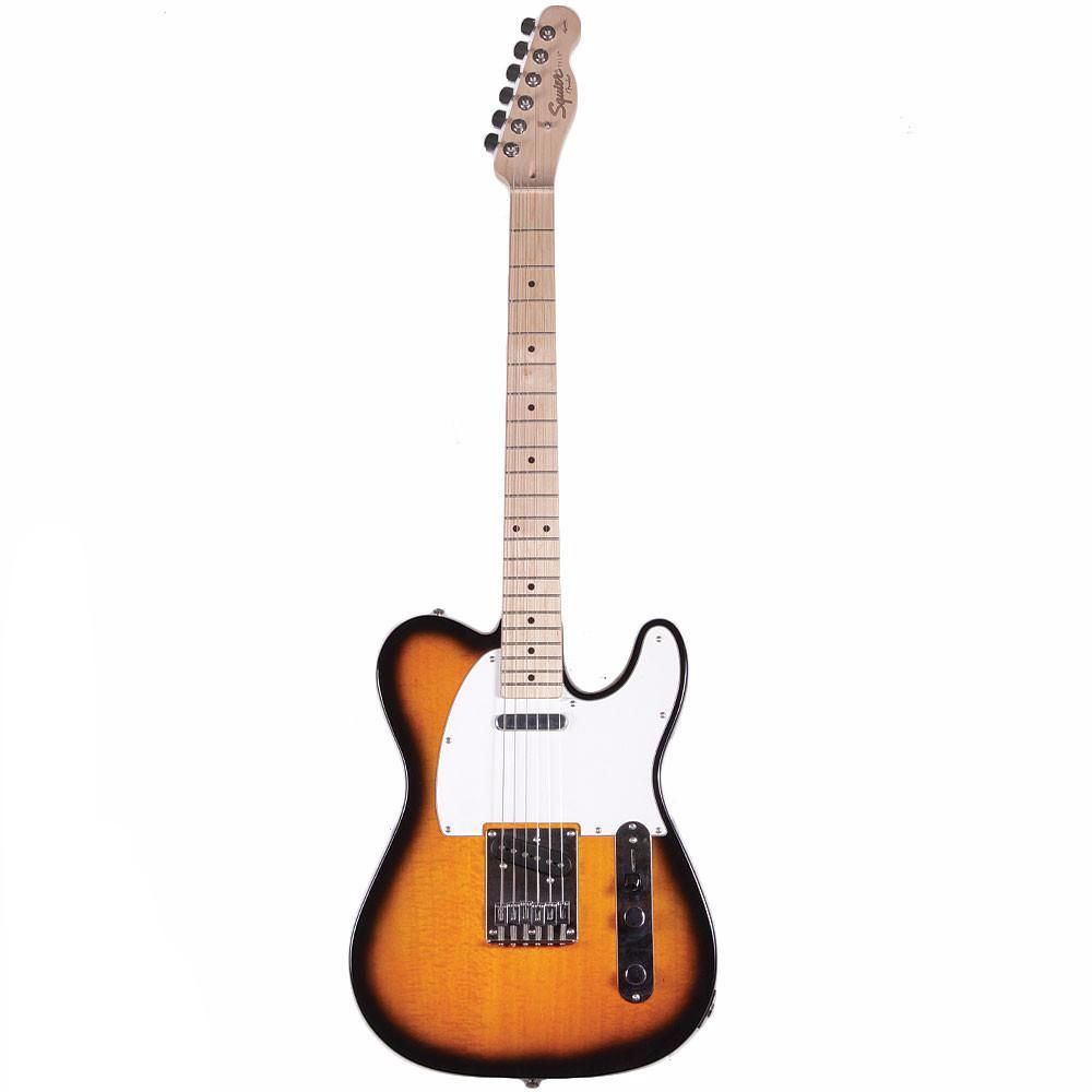 Squier Affinity Telecaster - Maple - 2Tone Sunburst - Vintage Guitar Boutique - 2