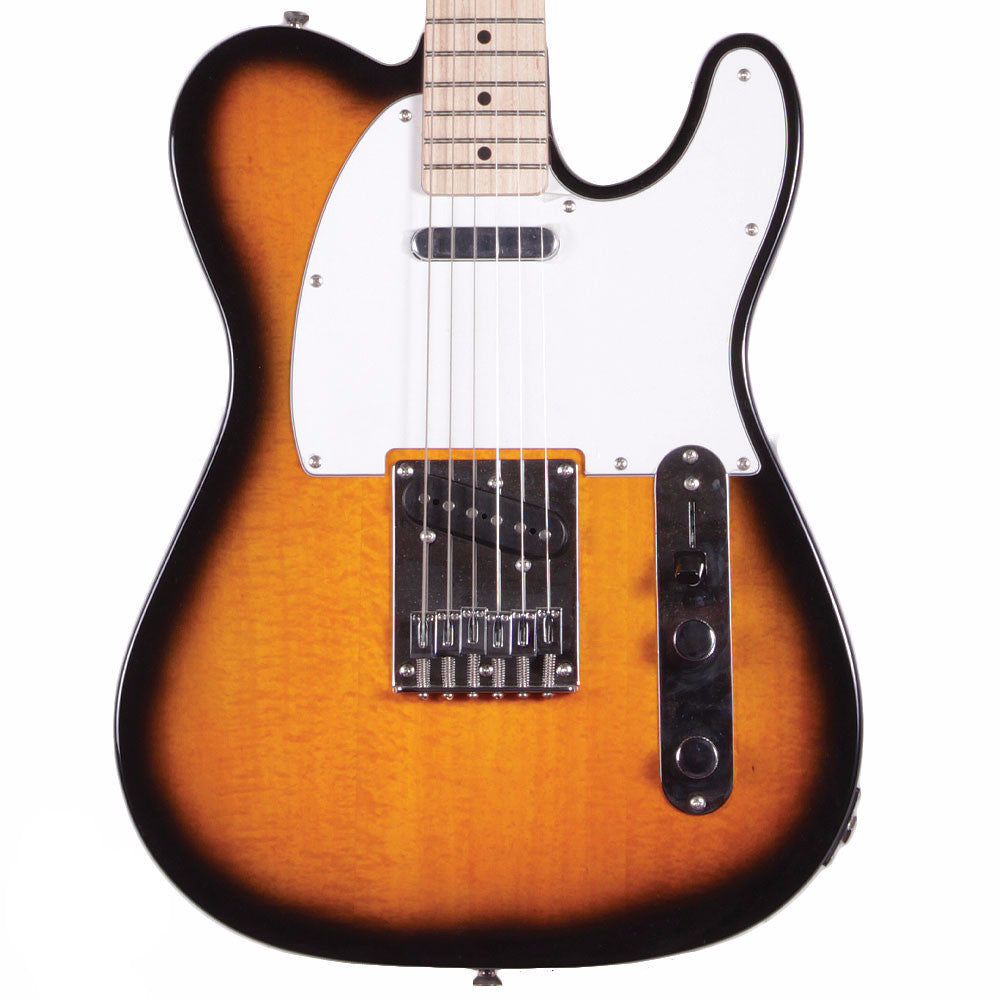 Squier Affinity Telecaster - Maple - 2Tone Sunburst - Vintage Guitar Boutique - 1