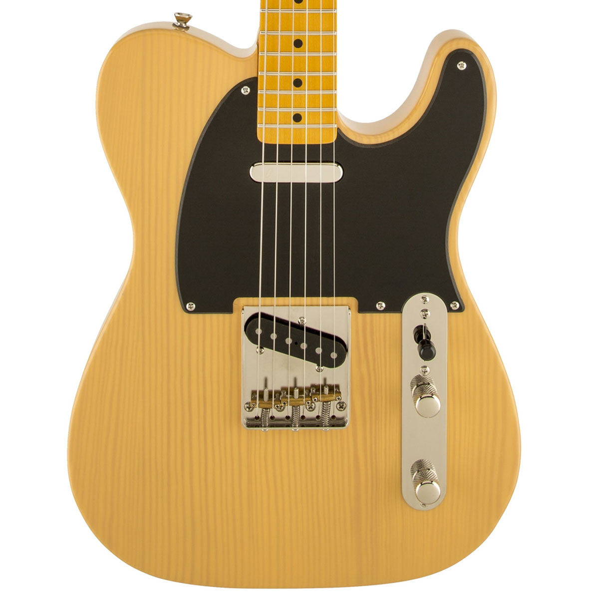 Squier Classic Vibe '50s Telecaster - Maple - Butterscotch Blonde - Vintage Guitar Boutique - 1