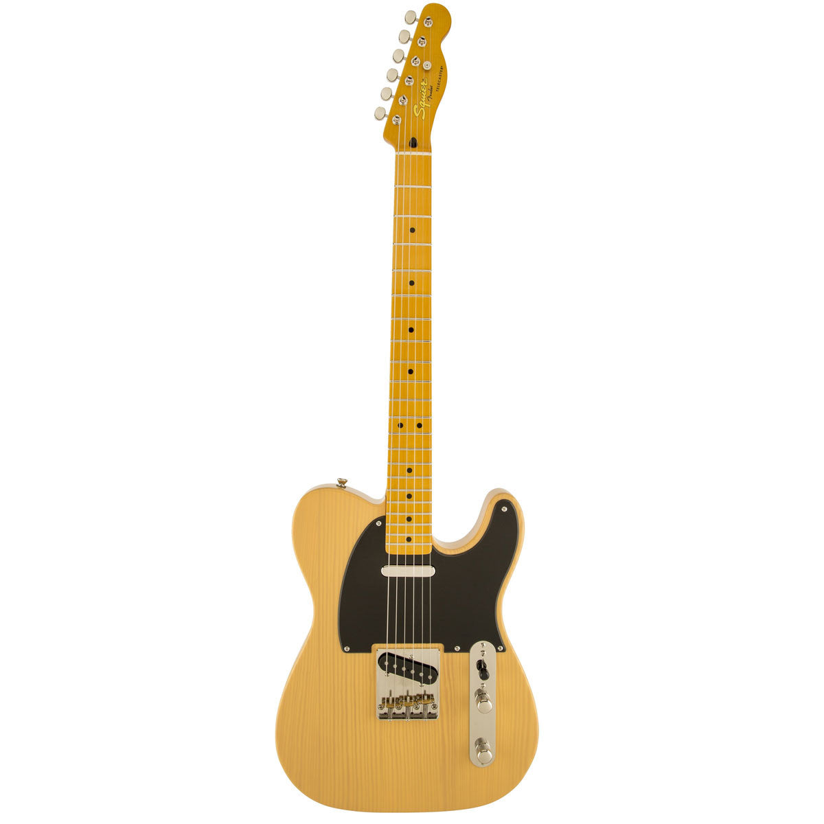 Squier Classic Vibe '50s Telecaster - Maple - Butterscotch Blonde - Vintage Guitar Boutique - 2
