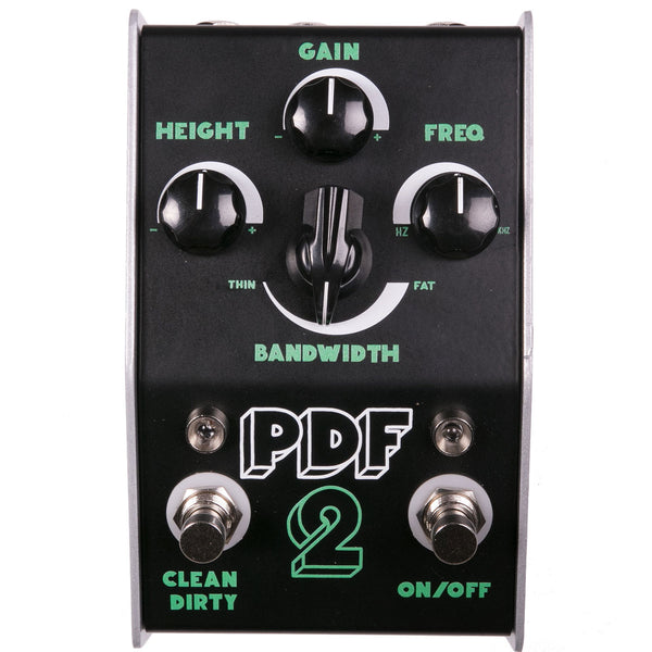 Stone Deaf PDF-2 Parametric Overdrive | Lucky Fret Music Co.