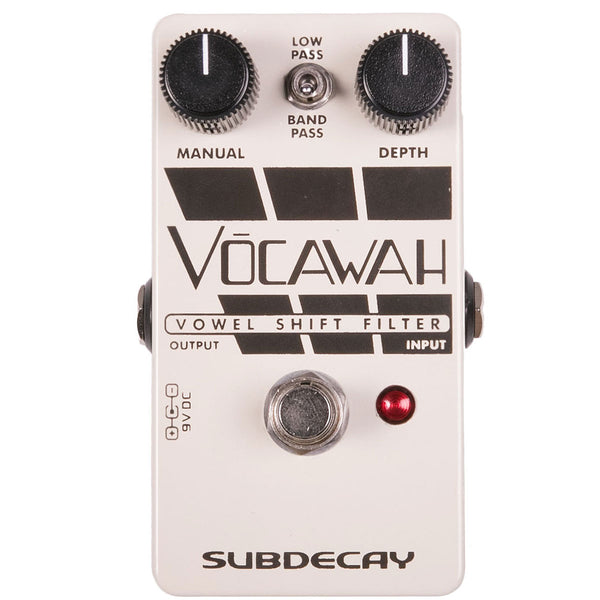 Subdecay Vocawah - Vowel Shift Filter