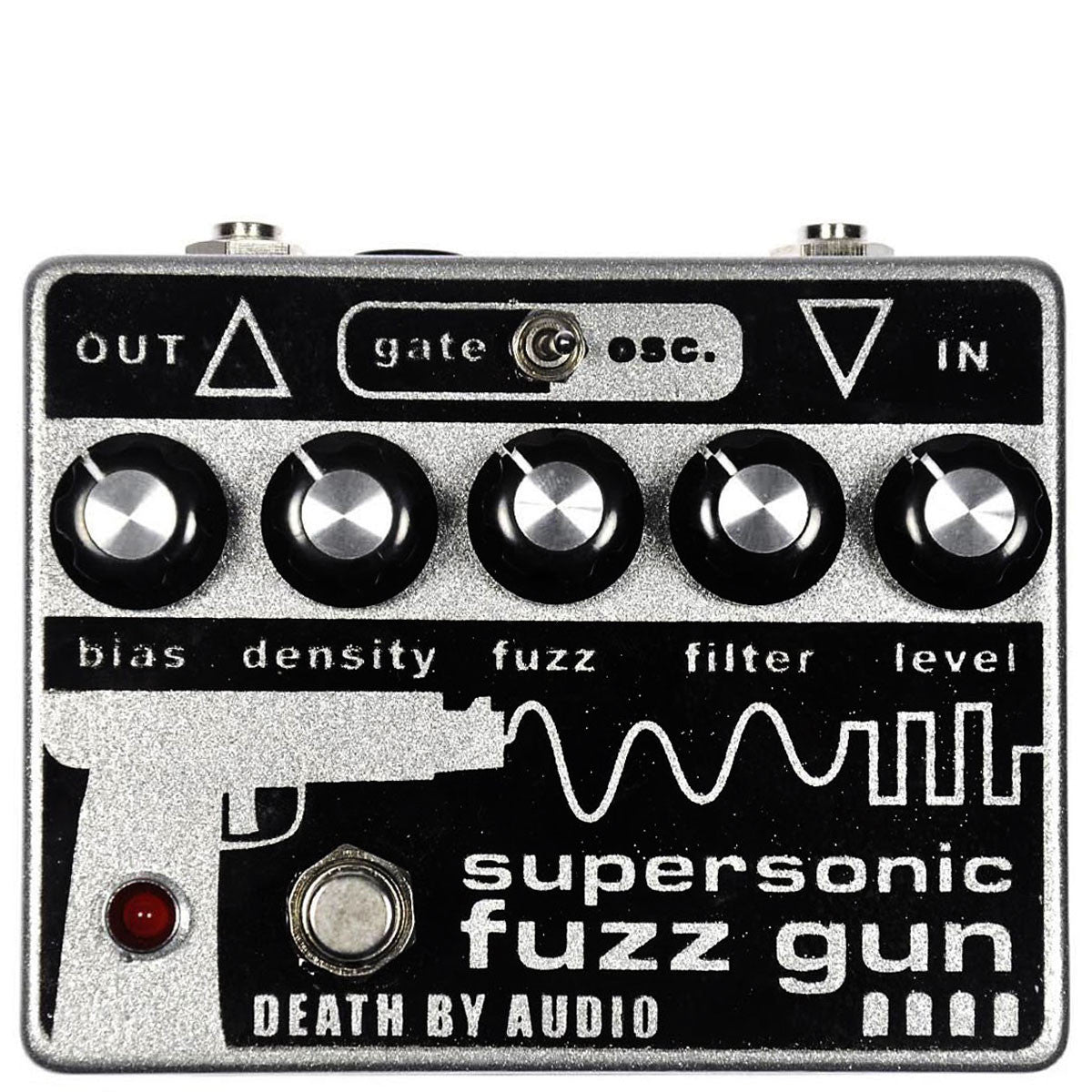 Death By Audio Supersonic Fuzz Gun | Lucky Fret Music Co.