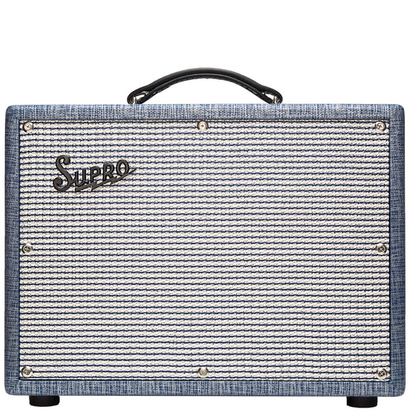 Supro - 1622RT - Trem-Verb 1x10 Tube Amplifier (240V) - Vintage Guitar Boutique
