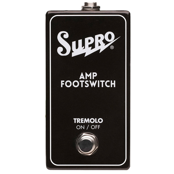 Supro - SF1 - Single Footswitch -Tremolo on/off | Lucky Fret Music Co.