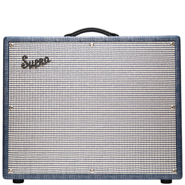 Supro S6420+ Thunderbolt+ 1x15 Tube Amp, 3 Way Rectifier (240v) - Vintage Guitar Boutique