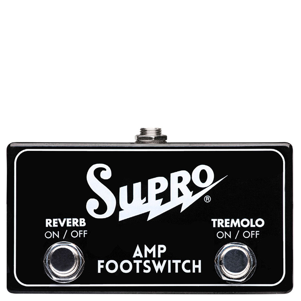 Supro SF2 - Dual Footswitch, Tremolo & Reverb On/Off
