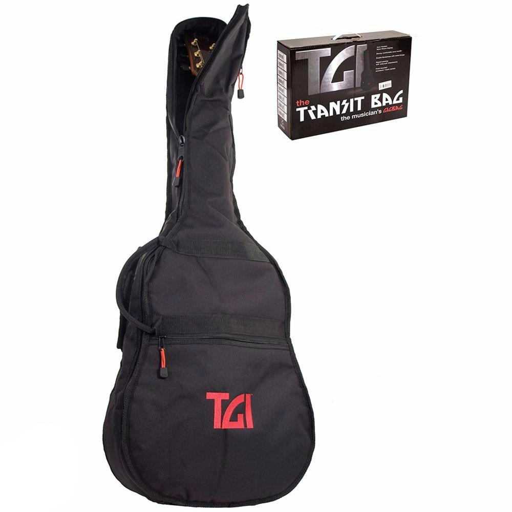 TGI Transit Series Acoustic Dreadnought Gig Bag - Vintage Guitar Boutique