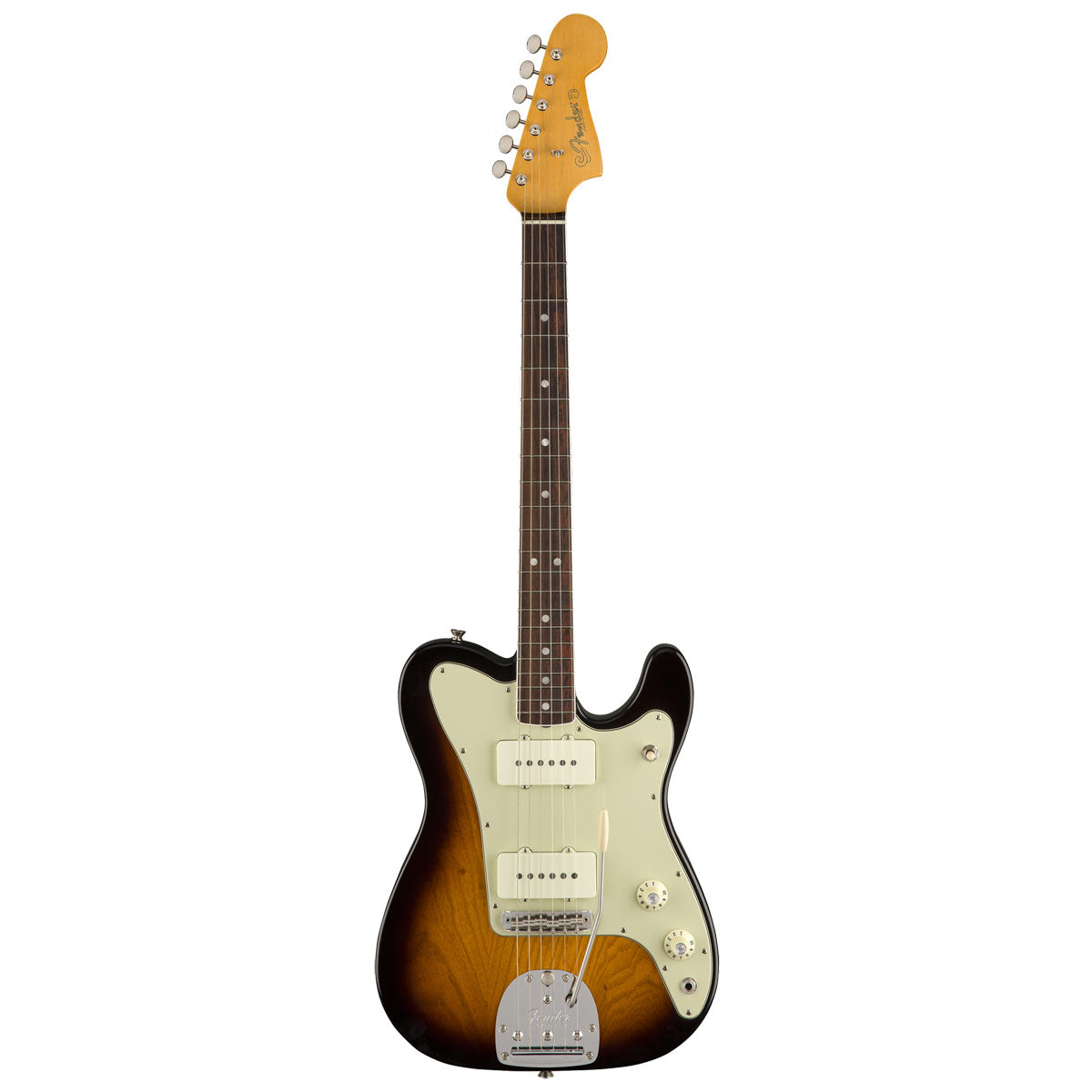 Fender Limited Edition 'Parallel Universe' Jazz-Tele, Rosewood, 2-Tone Sunburst | Lucky Fret Music Co.