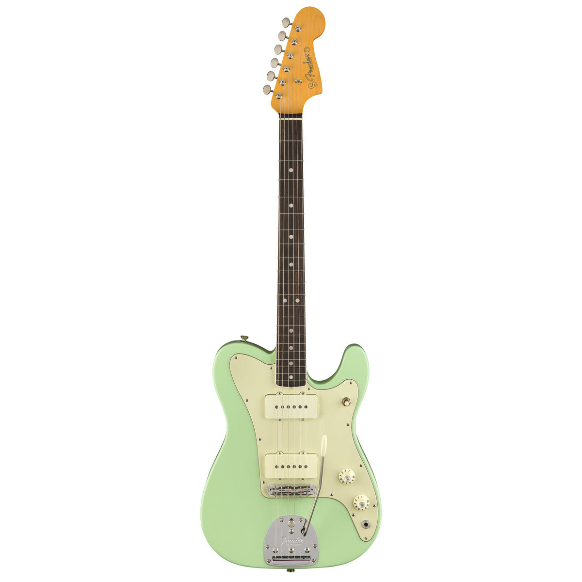 Fender Limited Edition 'Parallel Universe' Jazz-Tele, Rosewood, Surf Green | Lucky Fret Music Co.