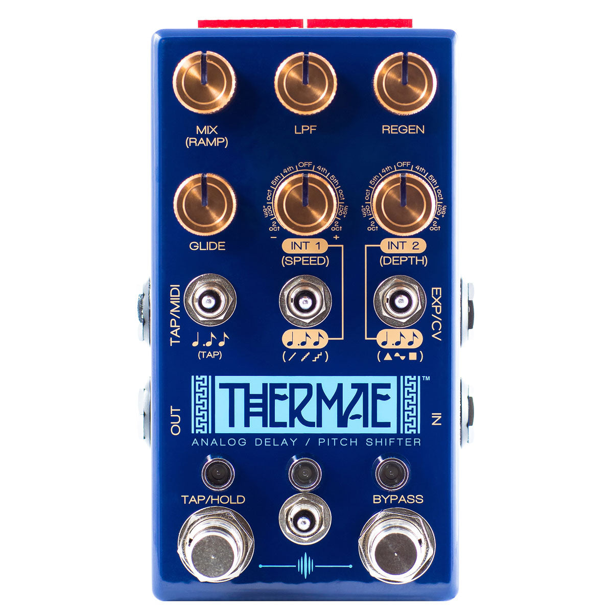 Chase Bliss Audio Thermae Analog Delay & Pitch Shifter | Lucky Fret Music Co.