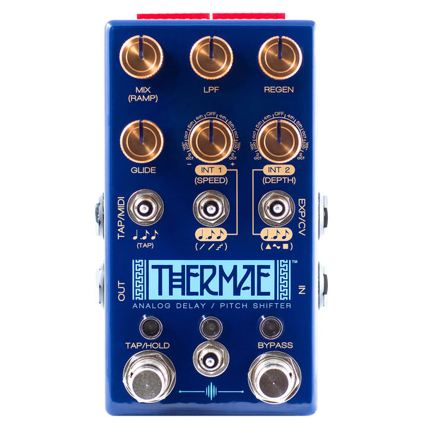 Chase Bliss Audio - Thermae - Analog Delay / Pitch Shifter