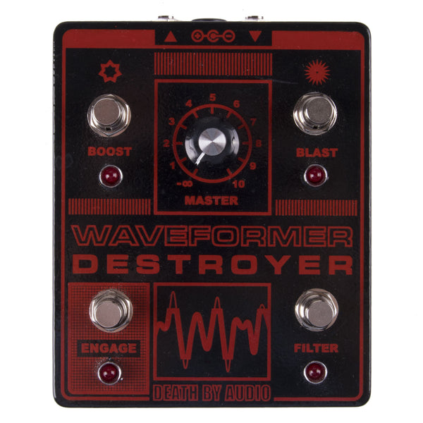 Used Death By Audio Waveform Destroyer