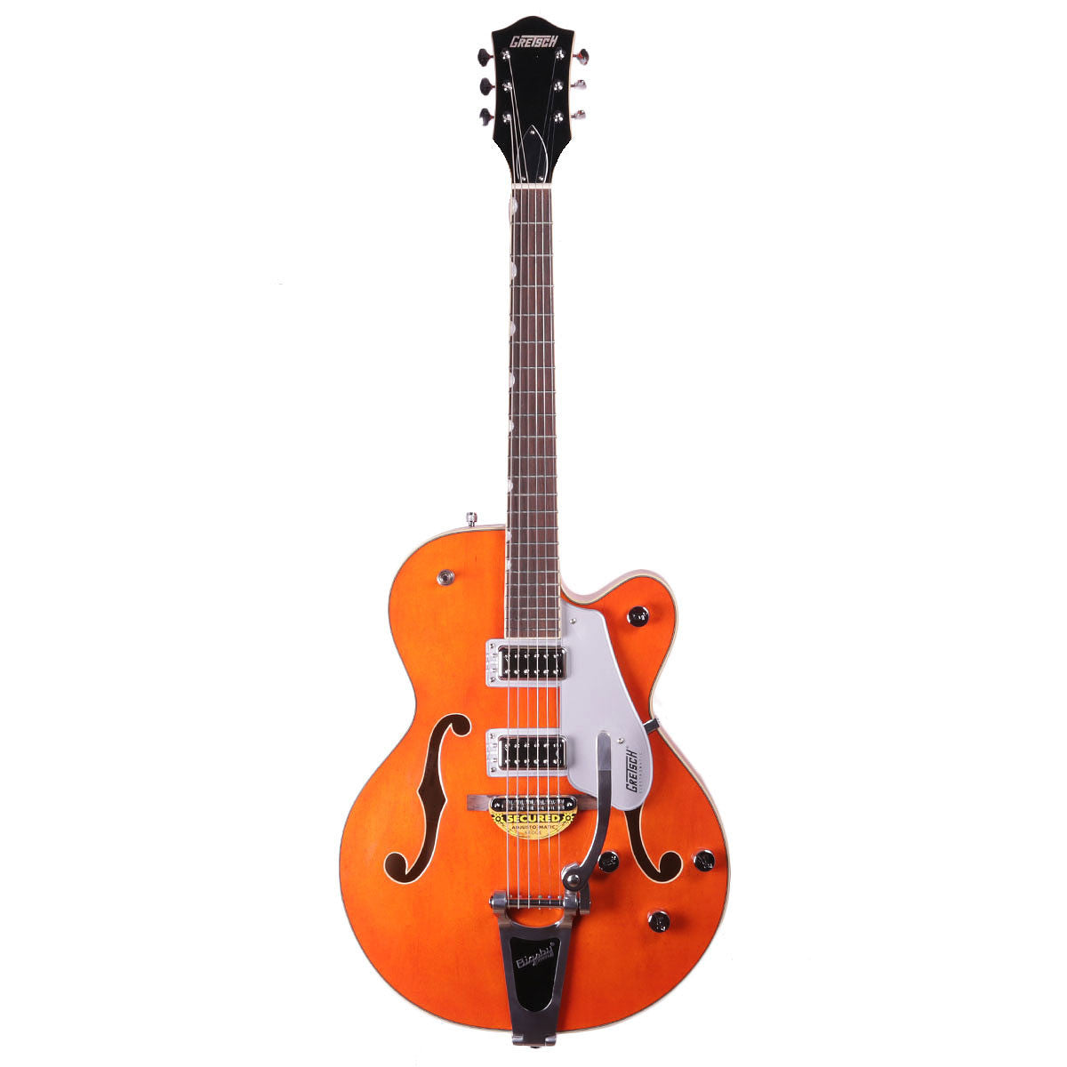 Gretsch G5420T 2016 Electromatic Hollowbody w/Bigsby - Orange - Vintage Guitar Boutique - 2