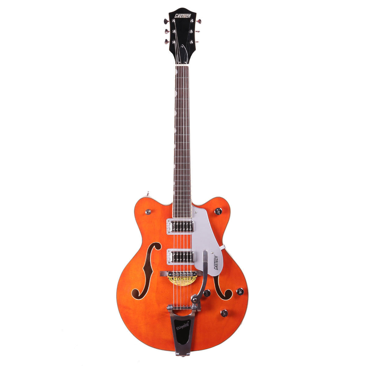 Gretsch G5422T 2016 Electromatic Hollowbody w/Bigsby - Orange - Vintage Guitar Boutique - 2