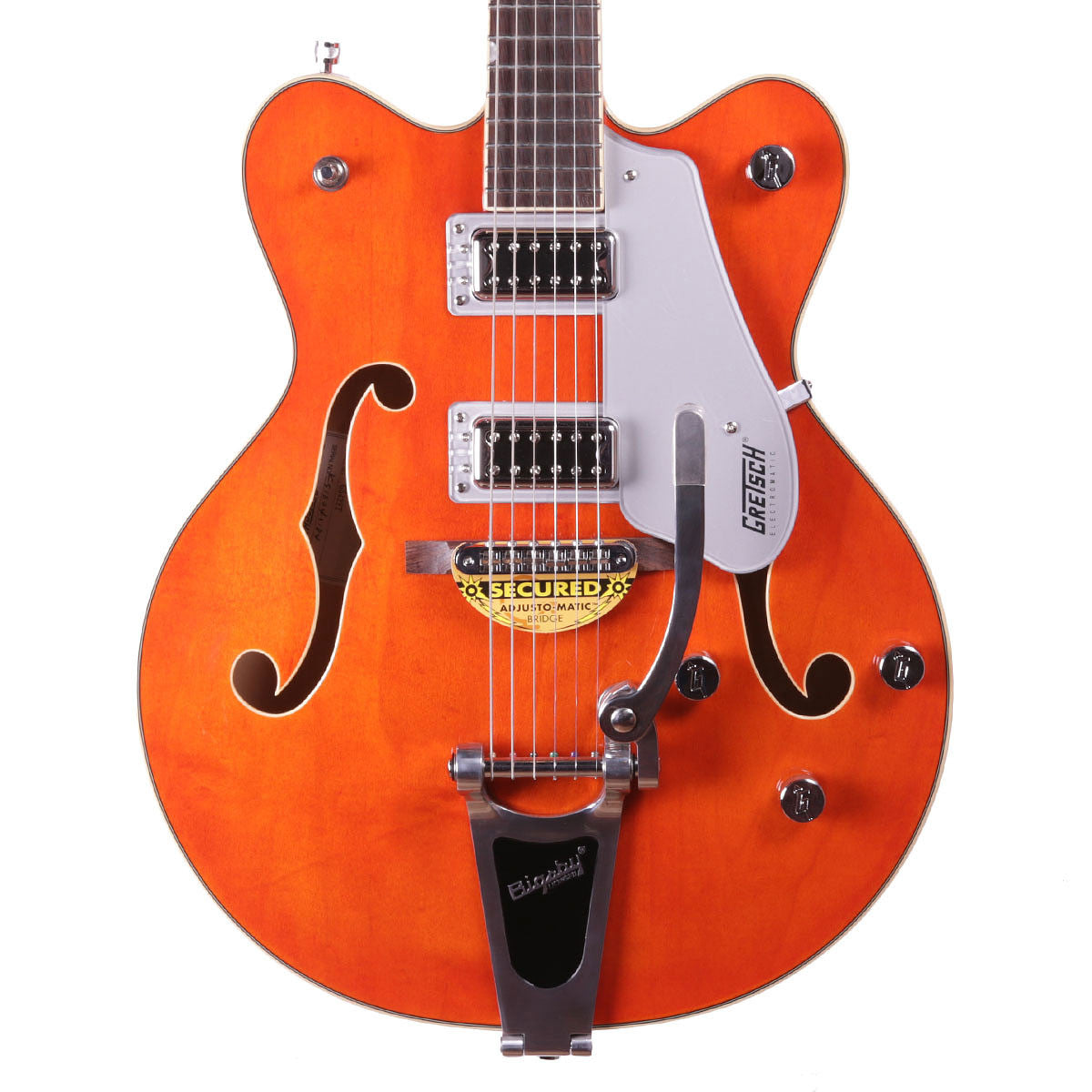 Gretsch G5422T 2016 Electromatic Hollowbody w/Bigsby - Orange - Vintage Guitar Boutique - 1