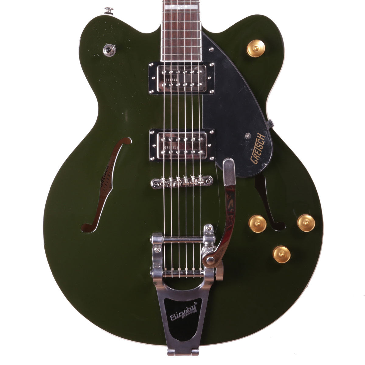 Gretsch G2622T Streamliner Center Block Double Cutaway with Bigsby - Torino Green - Vintage Guitar Boutique - 1