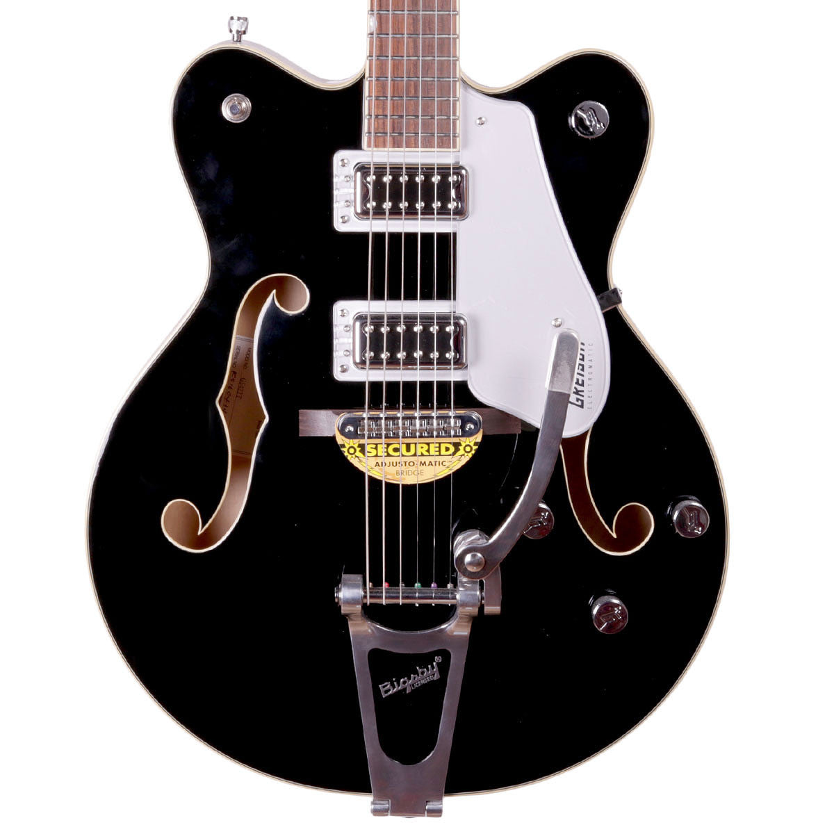 Gretsch G5422T 2016 Electromatic Hollowbody w/Bigsby - Black - Vintage Guitar Boutique - 1