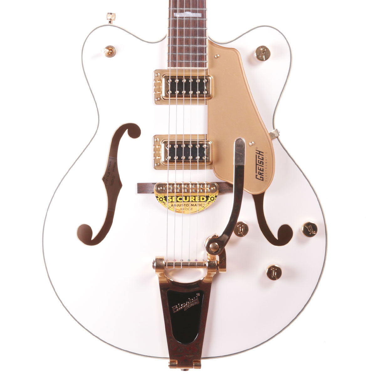 Gretsch G5422TG 2016 Electromatic Hollowbody w/Bigsby - White - Vintage Guitar Boutique - 1