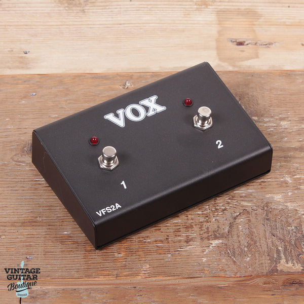VOX VFS2A 2-button footswitch for VR and AC Custom series amplifiers - Vintage Guitar Boutique - 1