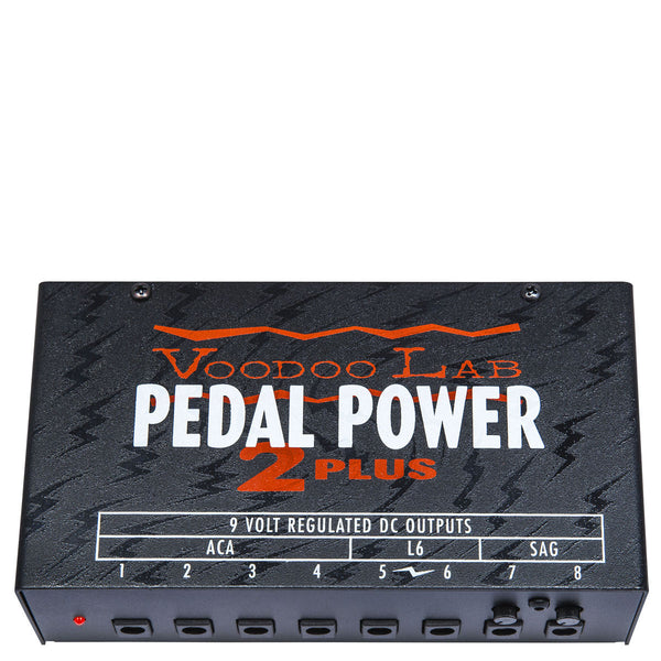 Voodoo Lab Pedal Power 2 Plus Power Supply | Lucky Fret Music Co.