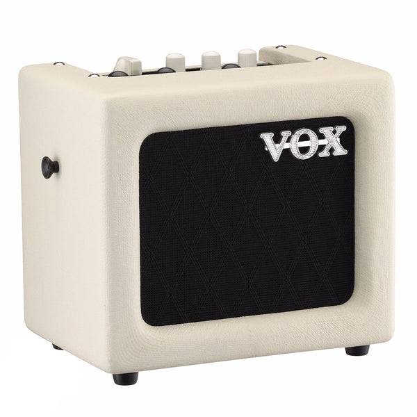 VOX MINI3-G2IV - 3-watt mains/battery modelling amp with effects, Ivory finish - Vintage Guitar Boutique - 1