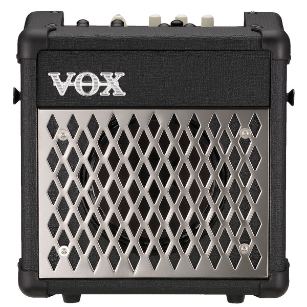 Vox MINI5-RM - 5-watt mains/battery modelling amp with effects and rhythms, Black finish | Lucky Fret Music Co.