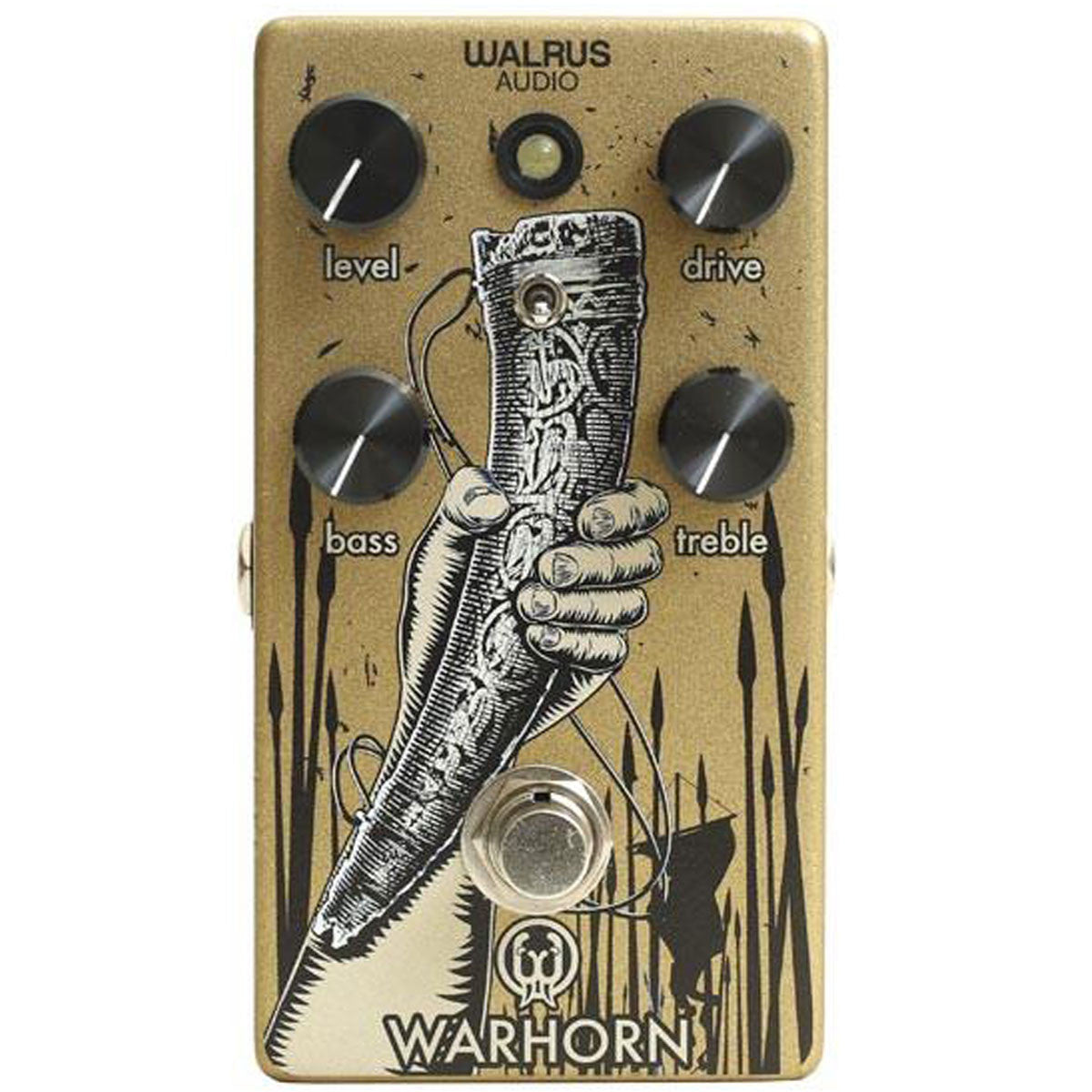 Walrus Audio Warhorn Overdrive | Lucky Fret Music Co.