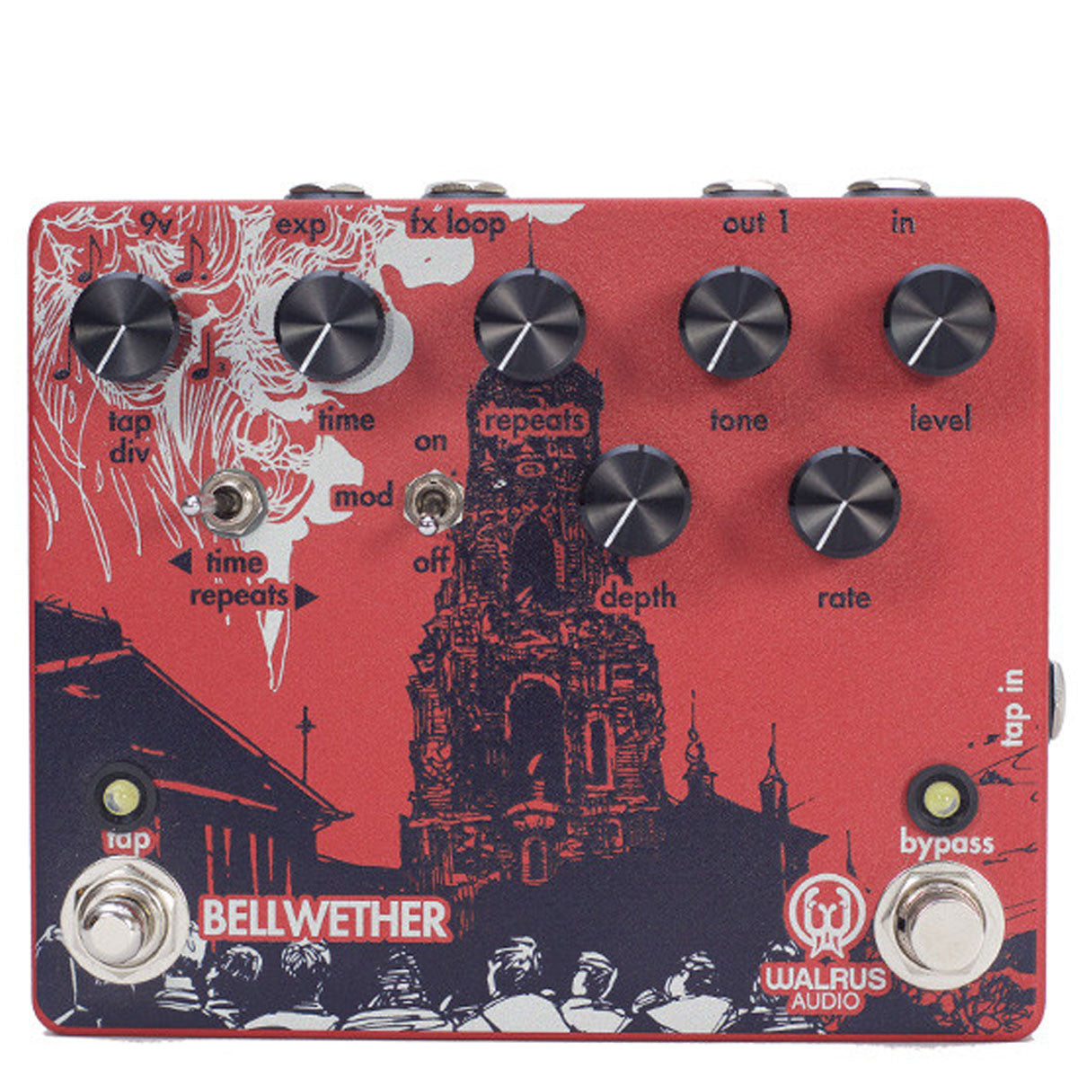 Walrus Audio - BELLWETHER - Analog Delay - Vintage Guitar Boutique