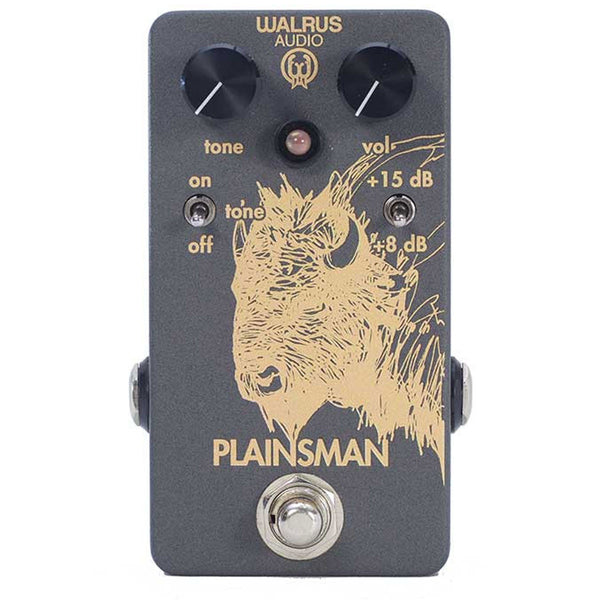 Walrus Audio - PLAINSMAN - Clean Boost - Vintage Guitar Boutique
