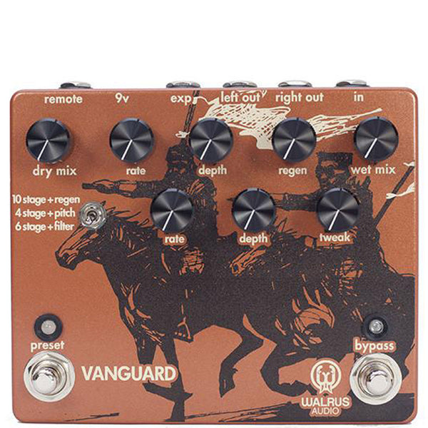 Walrus Audio Vanguard Dual Phase | Lucky Fret Music Co.