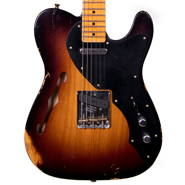 Fender Custom Shop 2019 Ltd Loaded Thinline Nocaster - Wide Fade 2-Color Sunburst
