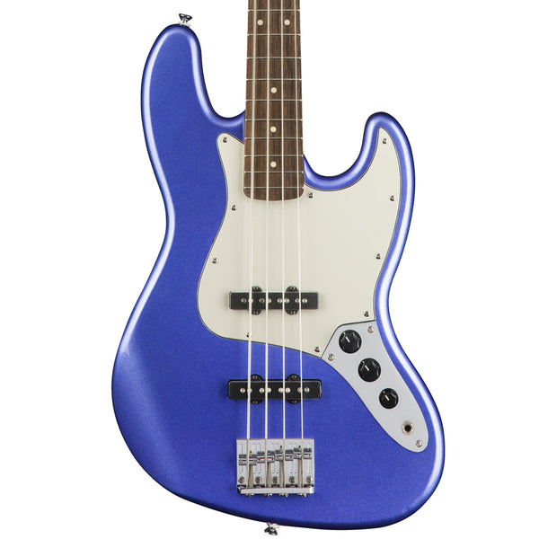 Squier Contemporary Jazz Bass, Ocean Blue Metallic | Lucky Fret Music Co.