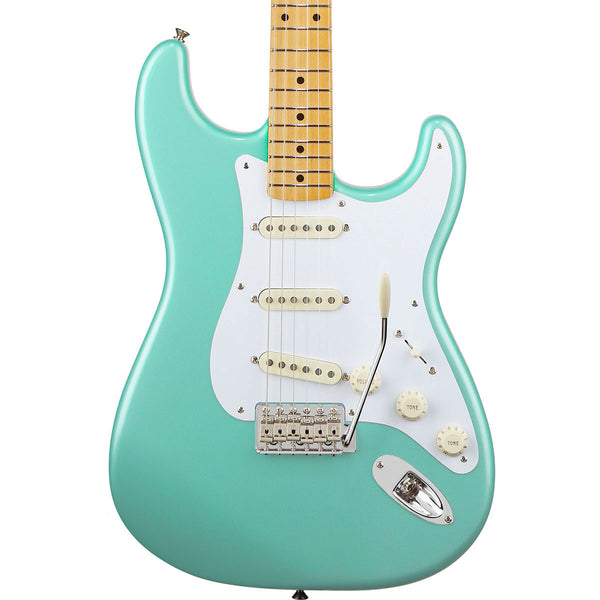 Fender Classic Series 50s Stratocaster - Maple - Surf Green - Vintage Guitar Boutique - 1