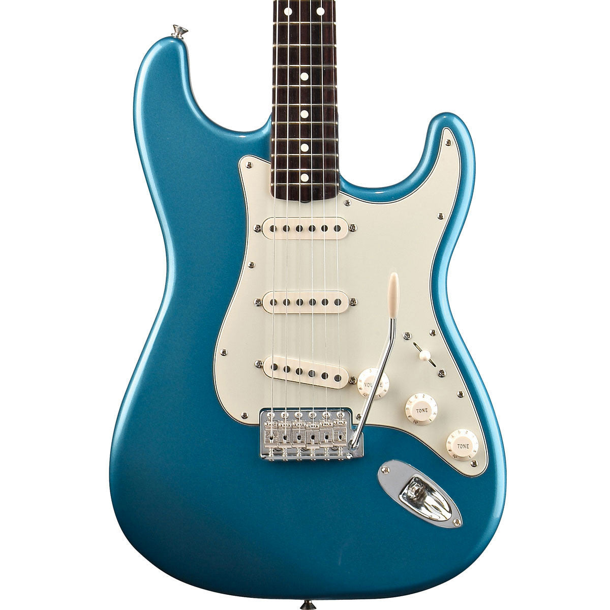 Fender Classic Series 60s Stratocaster - Rosewood - Lake Placid Blue - Vintage Guitar Boutique - 1