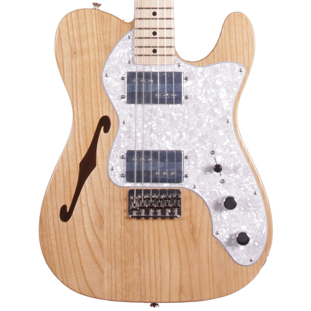 Fender Classic Series '72 Telecaster Thinline - Maple - Natural - Vintage Guitar Boutique - 1