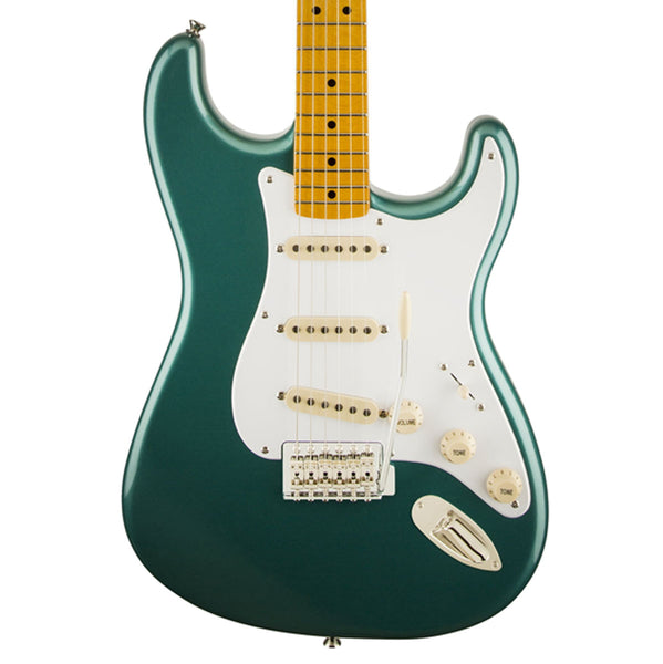 Squier Classic Vibe Stratocaster '50s, Maple Fingerboard, Sherwood Green Metallic with Matching Headcap