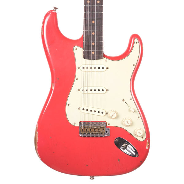 Fender Custom Shop - 1960 Relic Stratocaster - Aged Fiesta Red