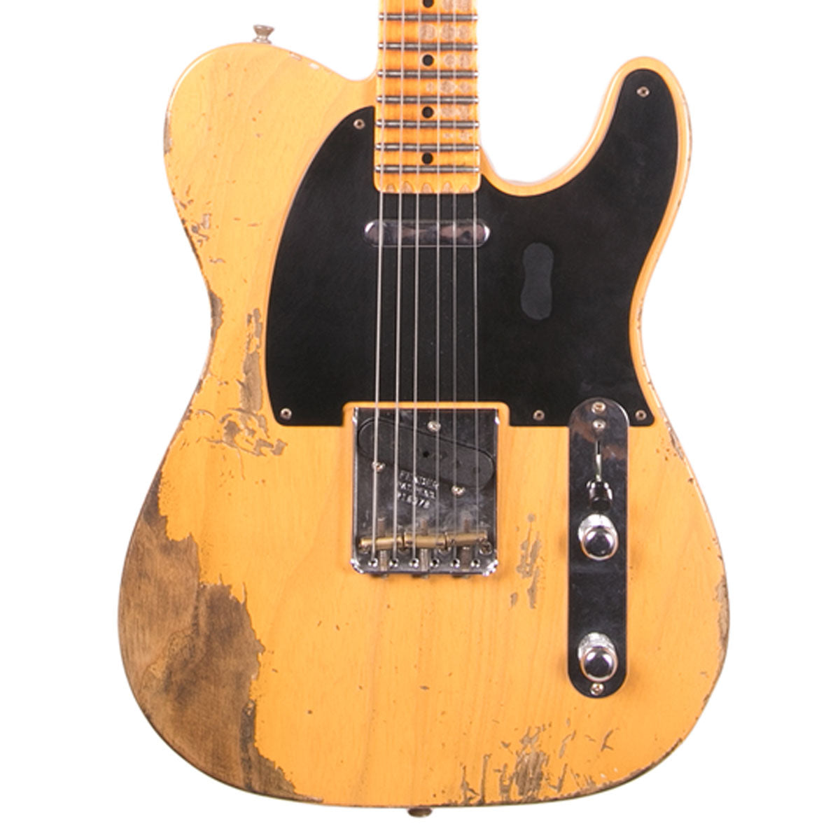 Fender Custom Shop - 1953 Heavy Relic Telecaster - Butterscotch Blonde | Lucky Fret Music Co.